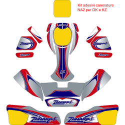 Kit adesivi ZANARDI 2015 per carenature NA2