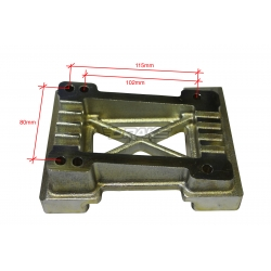 Piastra motore per telaio MINI e BABY KART