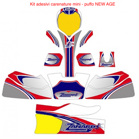 KIT Adesivi Zanardi MINI